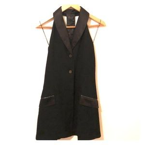 Faith Connexion Sleeveless Vest/Blazer Dress